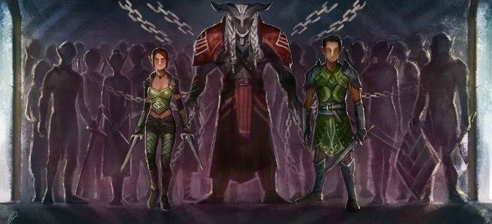 Выбор Эльфов. Dragon age, Dragon Age Inquisition, Арт