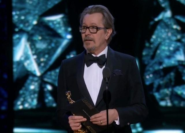 Гэри Олдман получил Оскар за лучшую мужскую роль Гэри олдман, Оскар, Наконец-То, Лучшая мужская роль