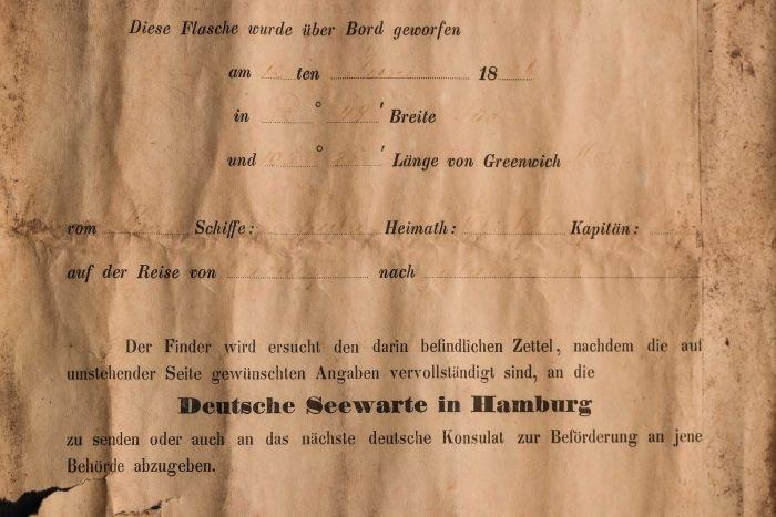 Австралийская пара нашла старейшее в мире послание в бутылке — из 1886 года Послание, Бутылка, Австралия, Текст, Длиннопост