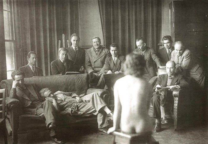 Тяга к прекрасному Живопись, Натурщица, Турция, 1930-е