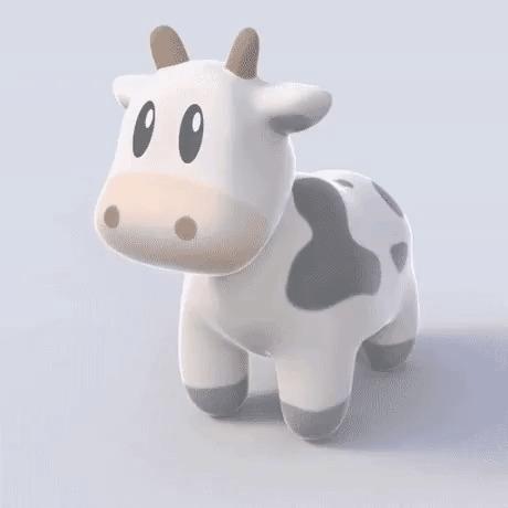 """Из старого анекдота: """"моя модель работает только для сферических коров в вакууме"""" Научный юмор, Физики шутят, Гифка"""