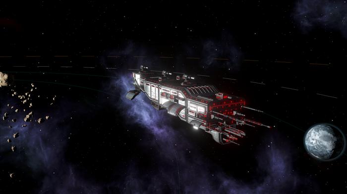 Красная галактика. Глава 3.Миссия спасения. Stellaris, Игры, Длиннопост