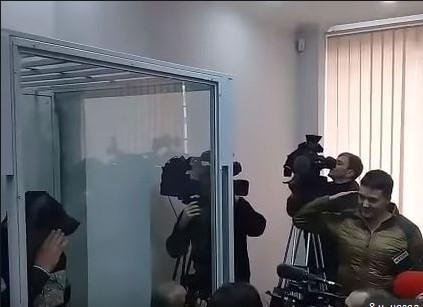 Савченко отдала честь Рубану подозреваемому в подготовки покушения на Порошенко Политика, Украина, Арест, Надежда Савченко