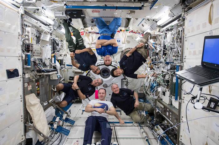 Просто космос. Космос, Космонавт, Космическая станция, Экипаж, Мужики, Юмор, Профессиональный юмор, Невесомость