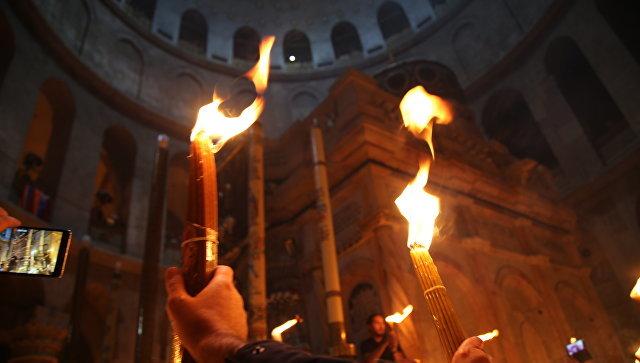 Священник раскрыл тайну Благодатного огня:ничего мистического нет новости, священник, благодатный огонь, церковь, религия