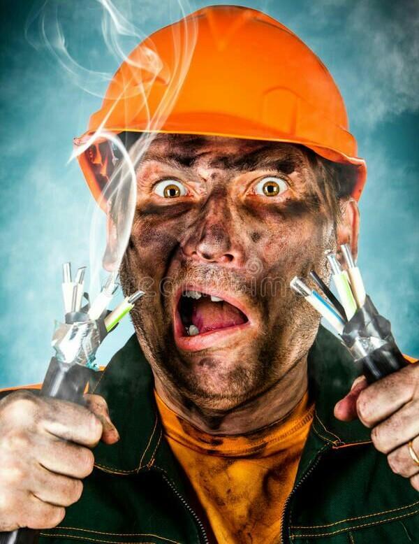 Электробезопасность Длиннопост, Электробезопасность, Случай из жизни