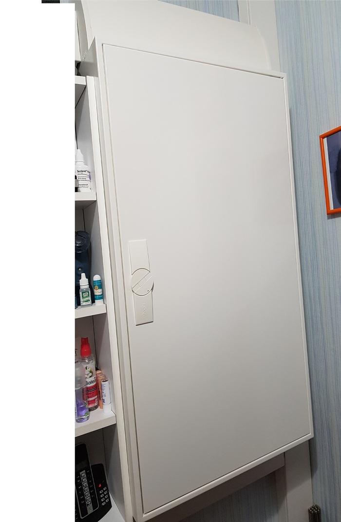 Электрощит в    доме. Длиннопост, Электричество, Электрощит, Проводка