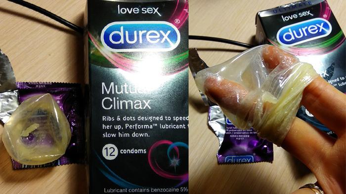 Секс видео с презервативом durex