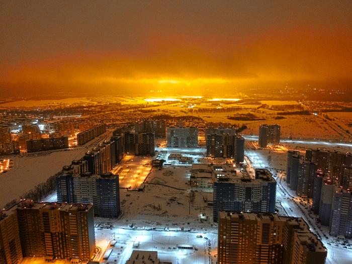 Пригород Казани Казань, Аэросъемка, Фотография