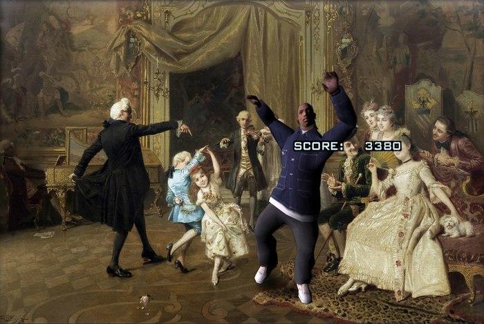 Ох уж эта миссия с танцами
