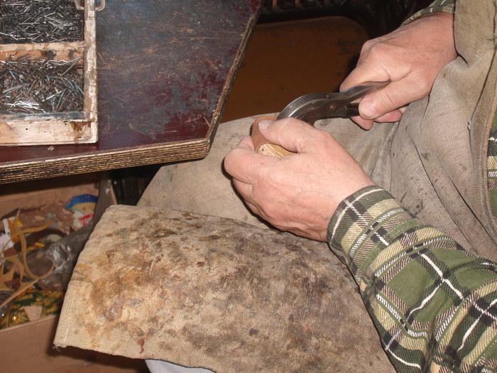 Увлечение моего деда - сапожное дело. Дед, Хобби, Сапожник, Изделия из кожи, Рукоделие без процесса, Длиннопост