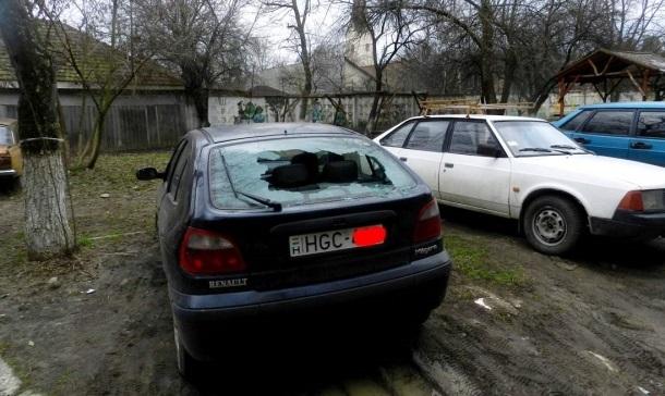 В Закарпатье начали громить машины с венгерскими номерами Украина, Венгрия, Закарпатье, Политика, Порча имущества