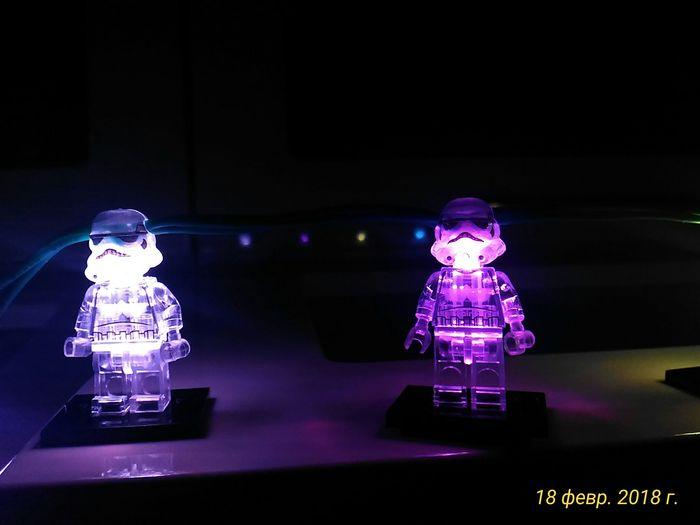Проект Christmas Lights или делаем красивую гирлянду Рукоделие, Рукоделие с процессом, Гирлянда, Star wars, Своими руками, Новогодняя гирлянда, Штурмовик, Видео, Длиннопост