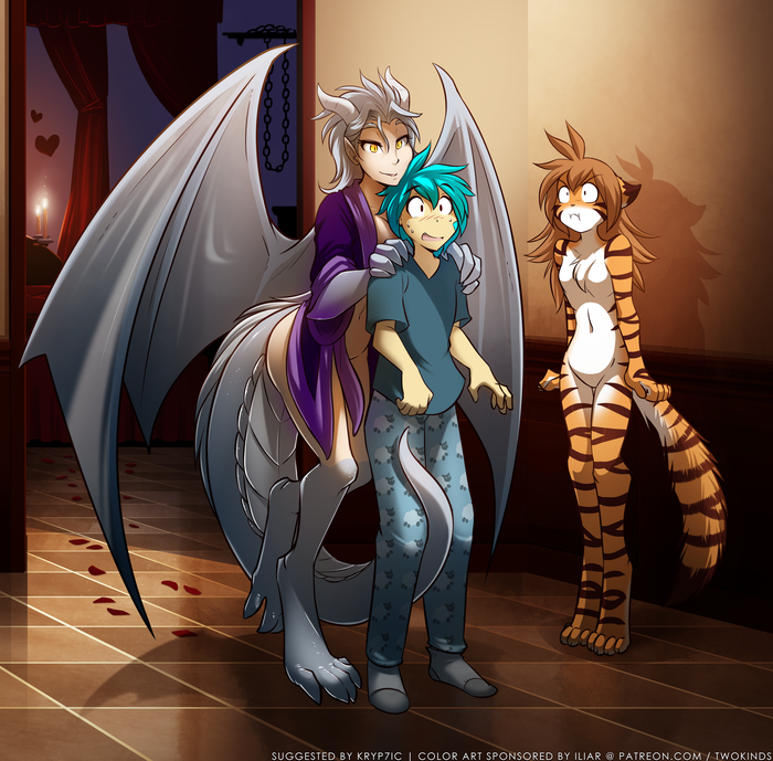 Nrage  trois Фурри, Tom Fischbach, TwoKinds, Trace Legacy, Flora, Lady Nora, Furotica, Furry art