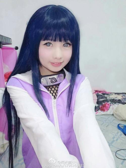 Хината Косплей, Hinata Hyuga, Длиннопост