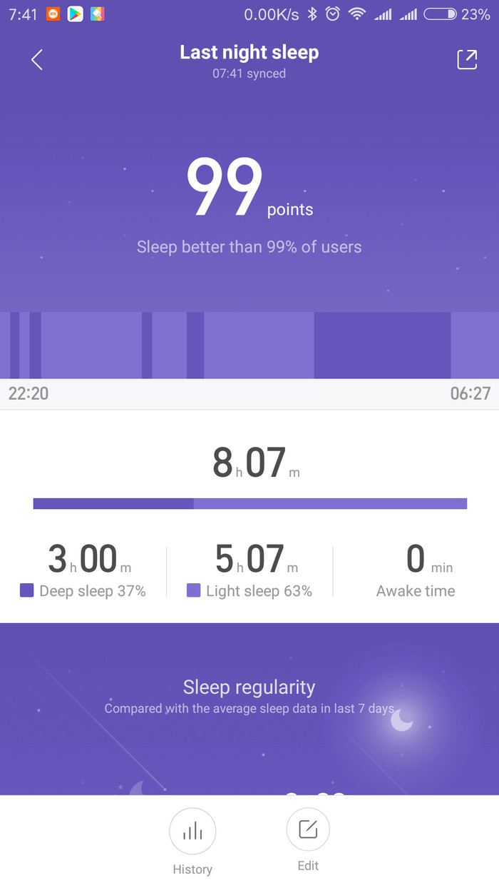 В ответ на пост о фитнес браслете :) Фитнес-Браслет, Xiaomi, Miband 2, Батл, Сон