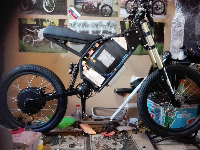 Что такое электрический велосипед и с чем его едят. Издалека. Электровелосипед, Кастом, Своими руками, Хобби, Моё, Длиннопост, Hi-Tech