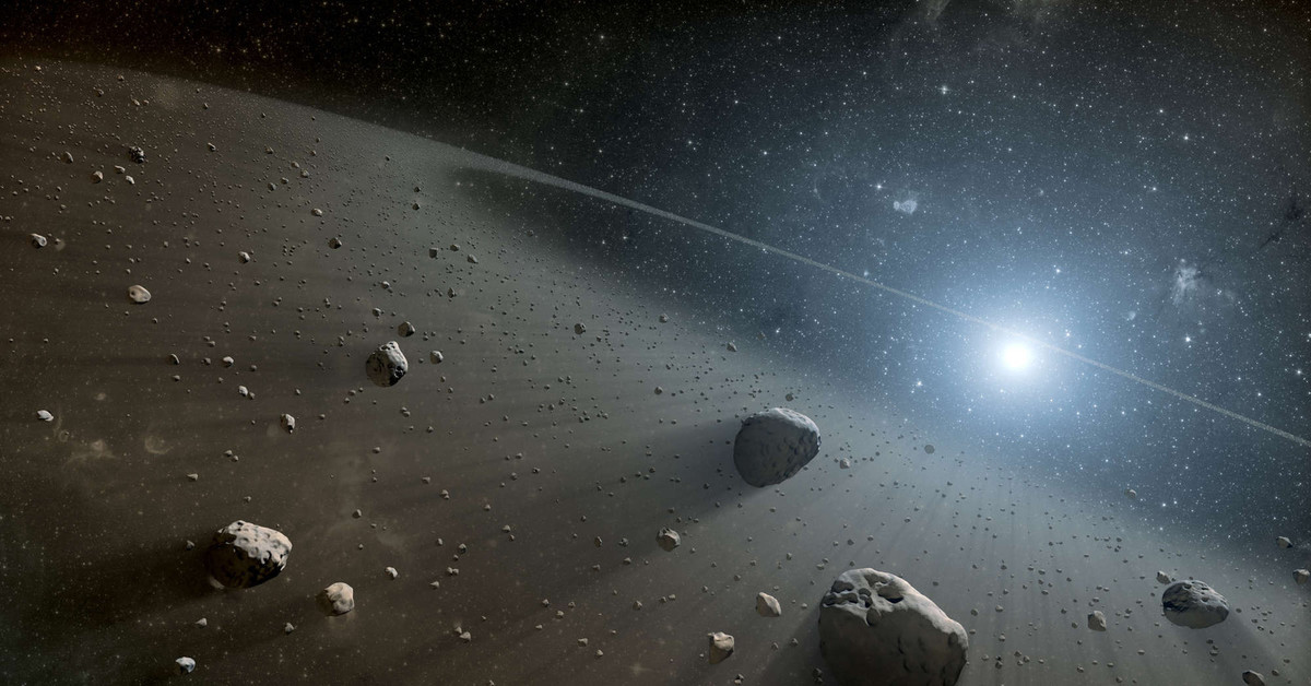 nasa comet collision - HD2560×1600