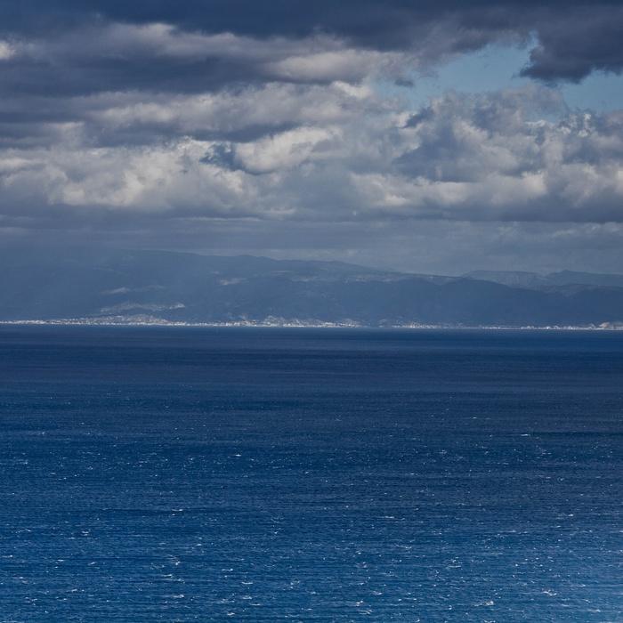 Море перед дождём. Море, Небо, Облака, Моё, Фотография