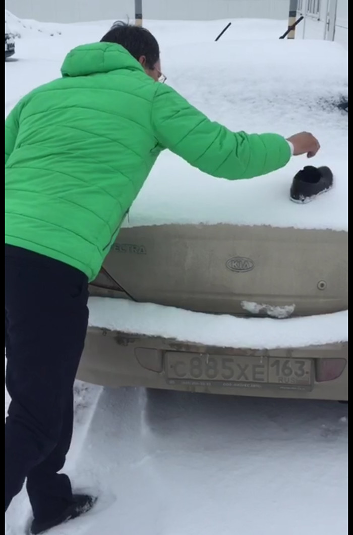 Если не там паркуется Сок, Парковка, Шутка, Длиннопост, Фотография