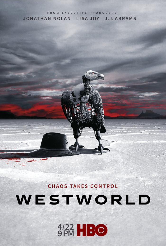 Мир дикого запада. 2 сезон.Постер.