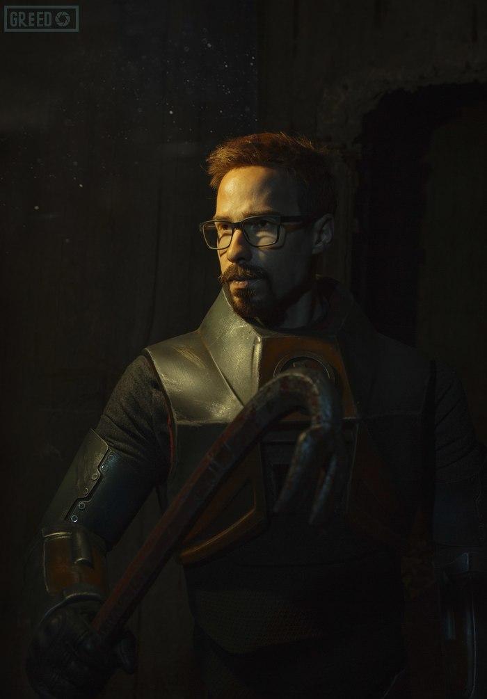 Косплей Гордона Фримена от Стаса Давыдова Half-Life, Half-Life 2, Косплей, Стас Давыдов, Мария Ханна, Длиннопост, Фотография
