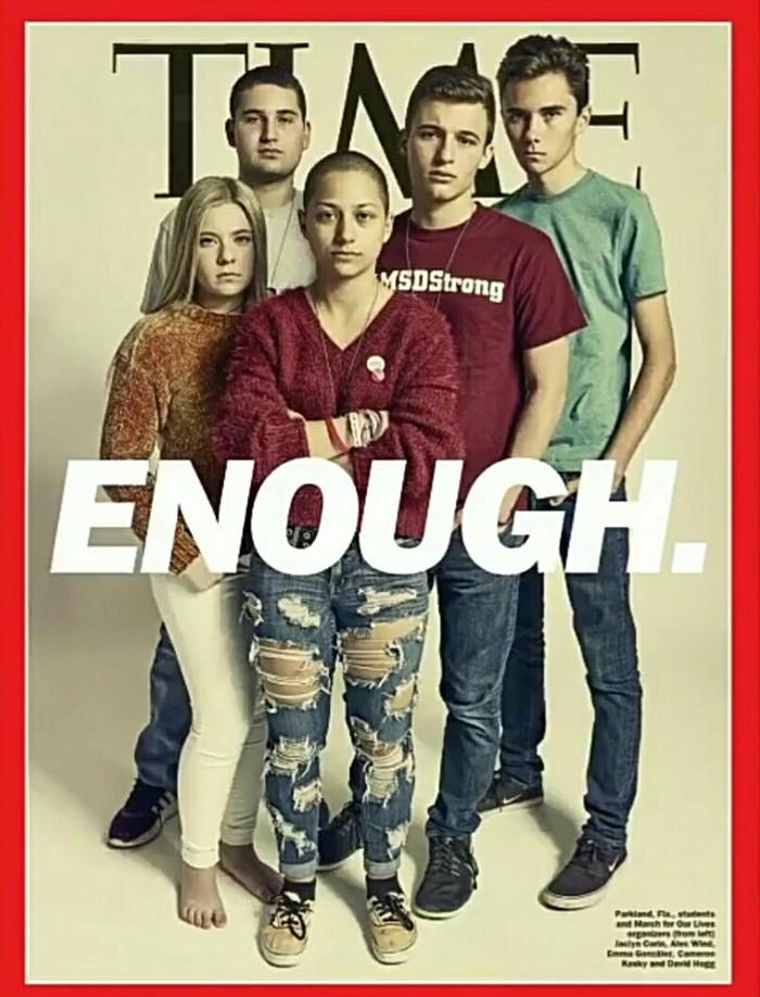 Двусмысленно... Америка, Тайм, Насилие, Стрельба в школе, Расизм, Обложка