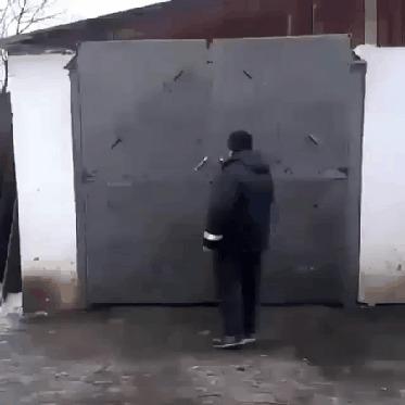 Ворота трансформер