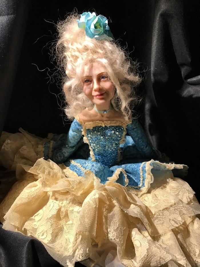 Портретная авторская кукла Сделана на заказ в 2017.