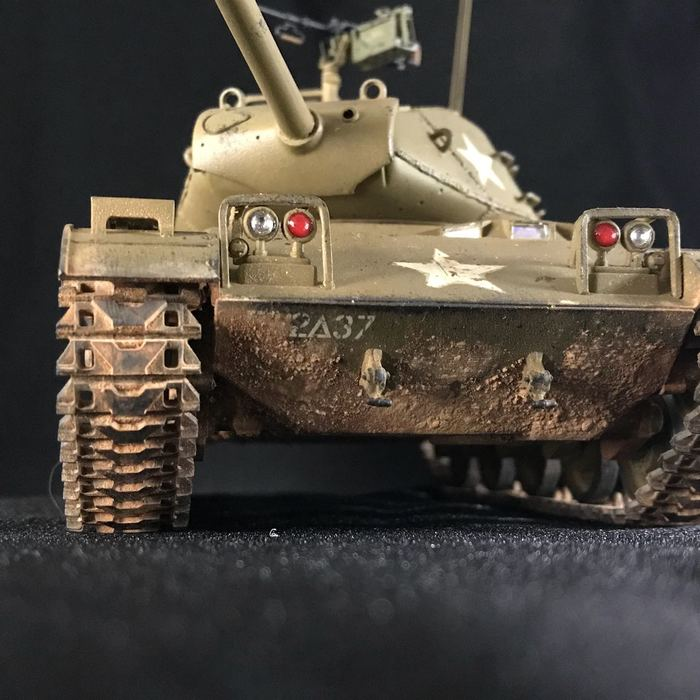M41 Walker Buldog Стендовый моделизм, Бтт, Аэрограф, Танки, Tamiya, Длиннопост, Модели, Фотография