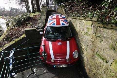 Застрять за 60 секунд Угон, Англия, Mini cooper