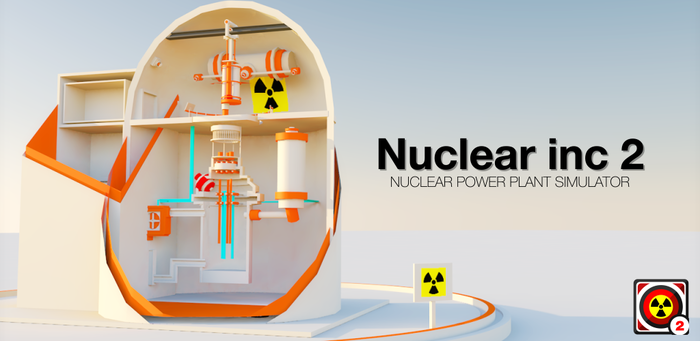 Nuclear inc 2 - симулятор АЭС на Android Симулятор, АЭС, Чернобыль, Реактор, Сталкер, Ядерный