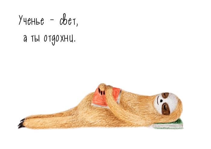 открытки с ленивцами воспоминаниям