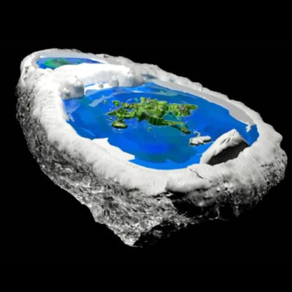 Очередная версия Плоской Земли: Выпукло-плоская (краткий обзор) Плоская земля, Обзор, Длиннопост