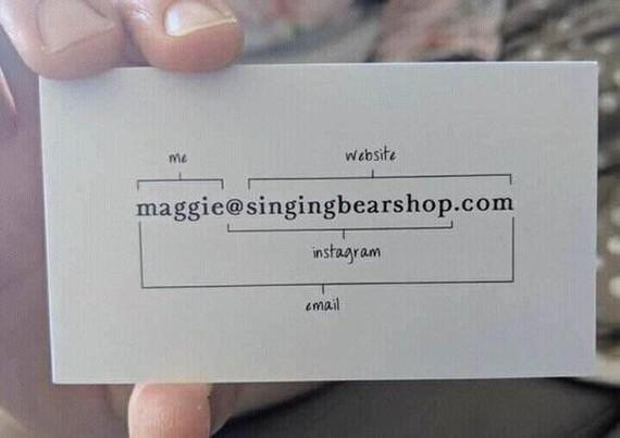 Крутая визитка