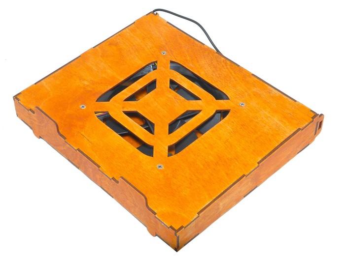 Подставка для ноутбука/нетбука с охлаждением Своими руками, Подставка, Рукоделие без процесса, Работа с деревом, Длиннопост