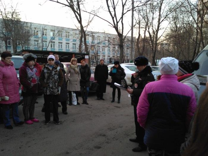 Встреча с участковым оставила неприятный осадок. Москва, Полиция, Участковый, Длиннопост, Подставные герои, Негатив, Фотография