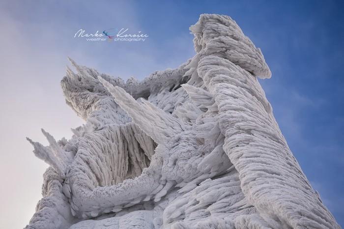 Причудливы твои, природы изваянья!! Словения, Авторская работа, Лед, Ледяная скульптура, Природа, Длиннопост