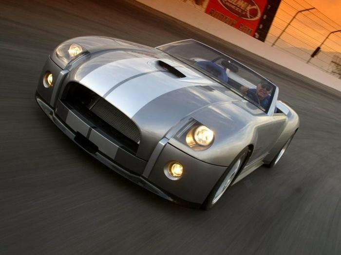 Автомобили #65. Ford Shelby Cobra Concept Авто, Форд, Cobra, США, Спорткар, Концепт, Длиннопост, Фотография