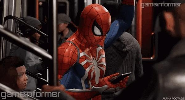 Много новых подробностей Spider-Man на PS4 от Insomniac Games Игры, Playstation 4, Insomniac Games, Человек-Паук, Эксклюзив, Статья, Видео, Длиннопост, Гифка