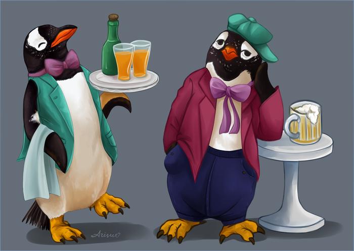 Проверка на возраст или если бы Пингвинята выглядели немного реалистичнее, чем мы их помним