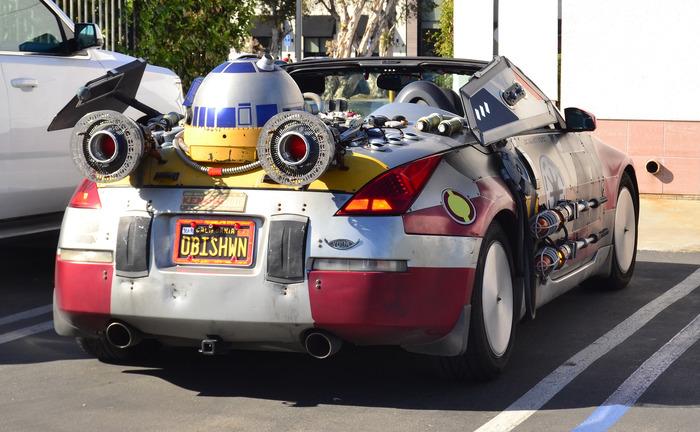 Автозвездные войны США, Интересное, Авто, Звездные войны IV, Фотография, Тюнинг