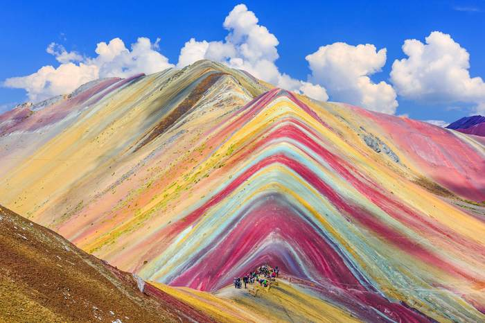 Радужные горы, Перу.