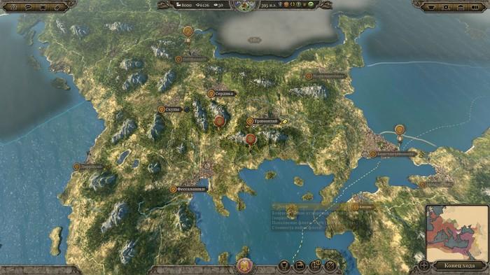 Литературное прохождение Total war:ATTILA за Византию часть 1 Total war:ATTILA, Игры, Текст, Картинки, Длиннопост, Total war