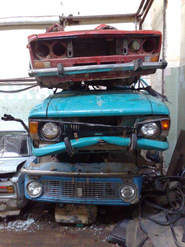 Утилизация автохлама Утилизация авто, Производство, Длиннопост