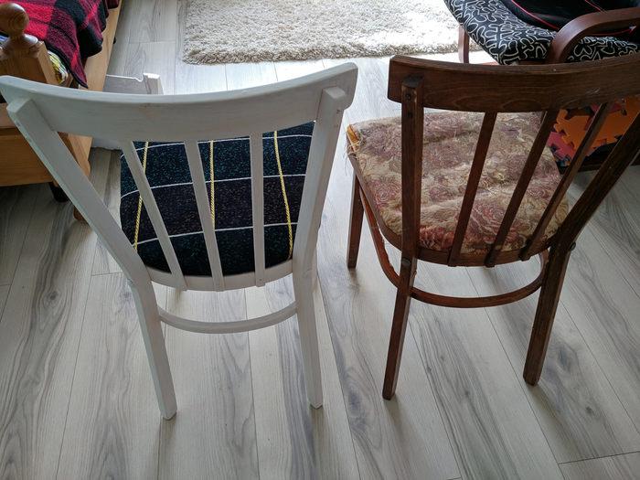 Старый стул ещё послужит. Сборка и ремонт мебели, Покраска, Своими руками, Длиннопост