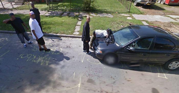 Где-то в пригороде Детройта Детройт, Черное гетто, Америка, Что происходит?, Длиннопост