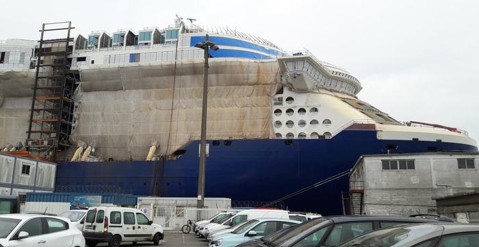 Скоро новый лайнер.