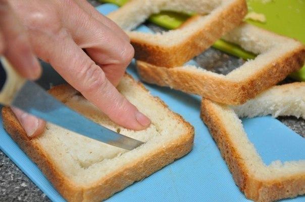 Необычные и вкусные бутерброды к завтраку Горячие бутерброды, Еда, Кулинария, Готовка, Рецепт, Пошагово, Фоторецепт, Длиннопост