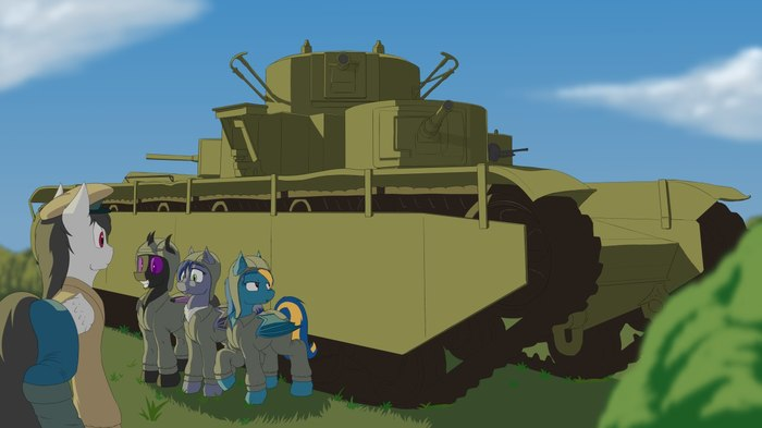 Ponies und Panzers Танки, My little pony, Mlp military, Mlp crossover, World of Tanks